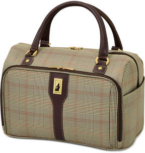 London Fog Knightsbridge 17 Cabin Tote, Available in Brown and Grey Glen Plaid, Macy's Exclusive Colors