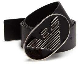 Emporio Armani Textured Leather Belt