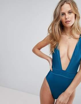 Bikini Lab Ribbed Swimsuit