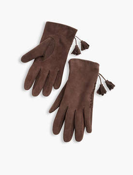 Lucky Brand Leather Tassel Glove