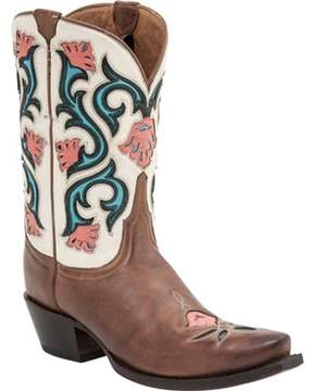 Lucchese Bootmaker M4920 S5 Toe Cowboy Boot (Women's)