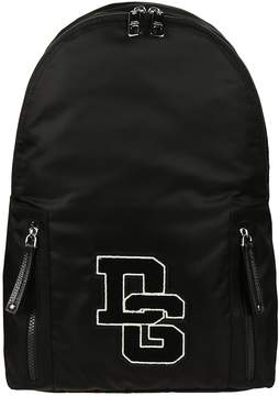 Dolce & Gabbana Logo Patch Backpack