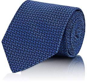 Ralph Lauren Purple Label Men's Chevron Silk Necktie