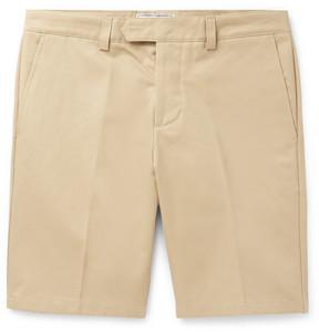 Ami Slim-Fit Cotton-Drill Chino Shorts