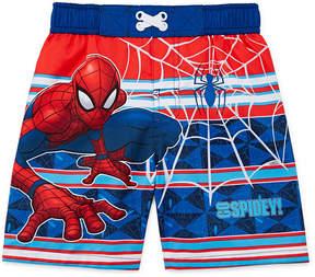 Spiderman LICENSED PROPERTIES Swim Trunks - Toddler Boys