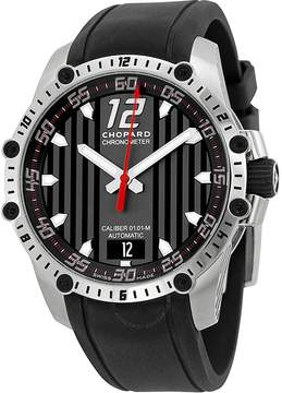 Chopard Classic Racing Superfast Automatic Black Dial Black Rubber Strap Men's Watch RBK