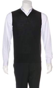 Calvin Klein Collection Wool-Blend Sweater Vest