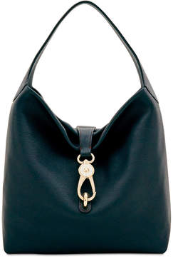 Dooney & Bourke Belvedere Logo Lock Hobo