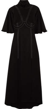 Ellery Noble Crepe Maxi Dress - Black