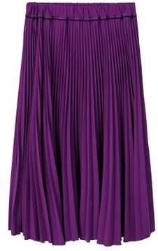Violeta BY MANGO Pleated midi skirt