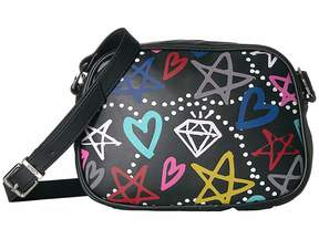 Sam Edelman Jamie Graffiti Camera Crossbody Cross Body Handbags
