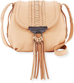 Kooba Sedona Braided Crossbody Bag, Nude