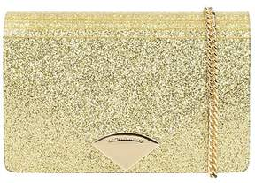 Michael Kors Barbara Gold Glitter Envelope Bag - GOLD - STYLE