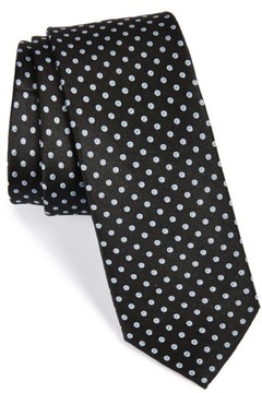 1901 Men's 'Grand Dot' Woven Silk Tie