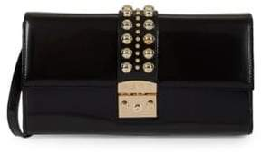 Mario Valentino Convertible Leather Crossbody Bag
