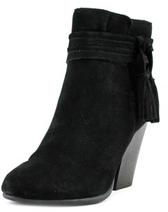 Very Volatile Enchanted Round Toe Suede Ankle Boot.