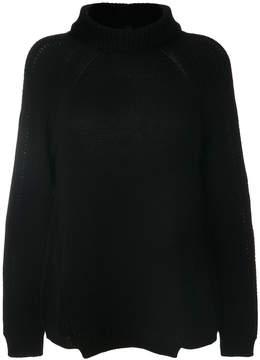 Blugirl roll-neck knitted sweater