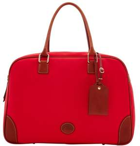 Dooney & Bourke Nylon Bowler Duffle Bag - RED - STYLE
