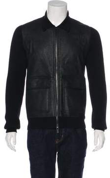 Hermes Lambskin & Wool Jacket w/ Tags