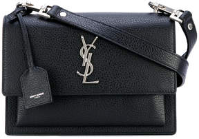 Saint Laurent Monogram shoulder bag - BLACK - STYLE