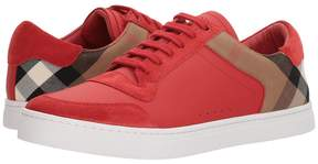 Burberry Reeth House Check Low Top Sneaker Men's Shoes