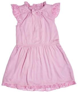 GUESS Melrose Ruffle Collar Dress (2-7)