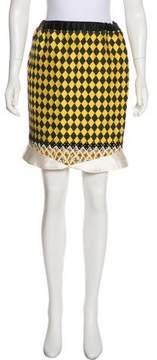 Aquilano Rimondi Aquilano.Rimondi Jacquard Knee-Length Skirt