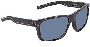 Costa del Mar Slack Tide Ocearch Grey Rectangular Sunglasses SLT 192OC OGP