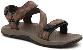 Columbia Big Water Sandal -Taupe/Orange - Men's