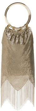 Whiting & Davis Rio Mesh Bracelet Bag - Metallic