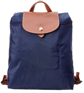 Longchamp Le Pilage Nylon Backpack. - NAVY - STYLE