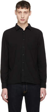 Nudie Jeans Black Henry Shirt