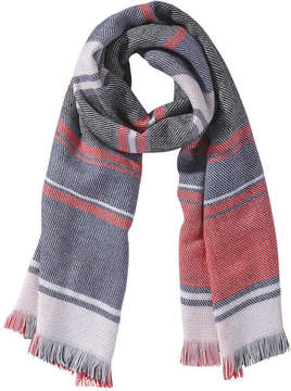 Joe Fresh Women's Plaid Scarf, Red (Size O/S)