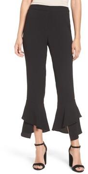WAYF Women's Gail Ruffle Hem Crop Pants