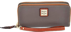 Dooney & Bourke Pebble Leather Double Zip Wallet - ONE COLOR - STYLE