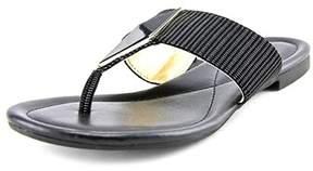Alfani Hannaah Women's Open Toe Synthetic Gray Thong Sandal.