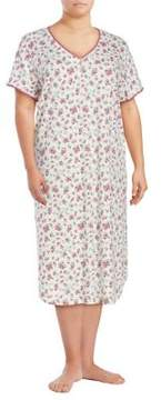 Karen Neuburger Floral Sleep Dress