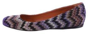 Missoni Woven Ballet Flats