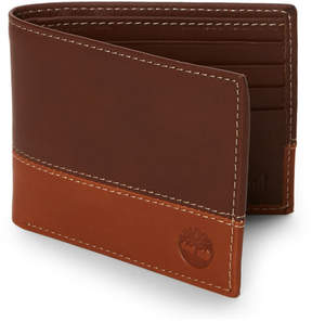 Timberland Leather Bi-Fold Commuter Wallet