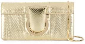 Salvatore Ferragamo Thalia snakeskin-effect shoulder bag