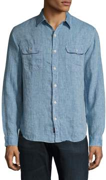 Faherty Men's Charleston Linen Buttoned Sportshirt