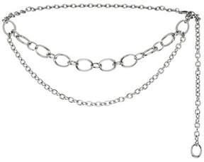 St. John | Metal Chain Link Double Strand Belt