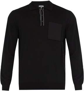 Lanvin Patch-pocket wool sweater