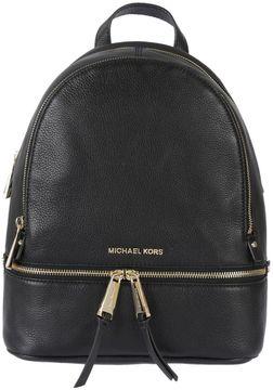 MICHAEL Michael Kors Multi-zips Backpack - NERO/ORO - STYLE