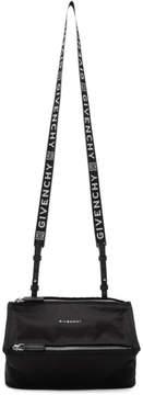 Givenchy Black Nylon Mini Pandora Bag