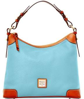 Dooney & Bourke Pebble Grain Hobo Shoulder Bag - CARIBBEAN BLUE - STYLE