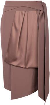 Chalayan greek belt fold skirt