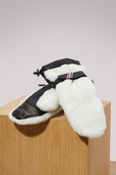 Moncler Fur gloves