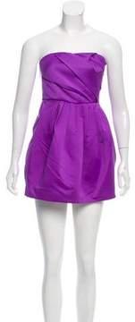 Armani Exchange Pleated Mini Dress