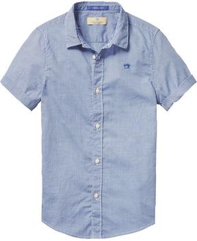 Scotch & Soda Basic Short Sleeved Shirt